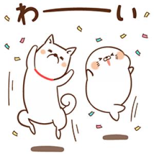 【無料スタンプ速報】ゲスくま&毒舌あざらし×ソフトバンク スタンプ(2018年01月01日まで)