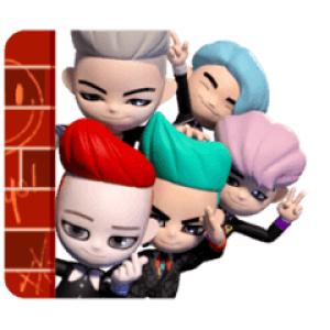 【半額セール】BIGBANG 'GO Blings' スタンプ(2018年04月24日AM10:59まで)