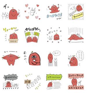 【無料スタンプ速報】ムック×うさぎ帝国 スタンプ(2018年04月02日まで)