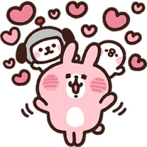 【無料スタンプ速報】カナヘイの小動物×けんさくとえんじん スタンプ(2018年03月12日まで)