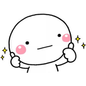 【無料スタンプ速報:隠し無料スタンプ】しろまる×ミツカン スタンプ(2018年04月02日まで)
