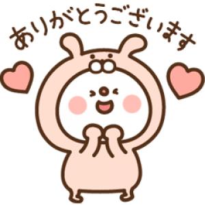 【LINE無料スタンプ速報】fracora×だいふく スタンプ(2018年05月28日まで)