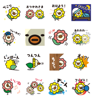 【LINE無料スタンプ速報】オリコトリ☆スタンプ第2弾♪ スタンプ(2018年05月21日まで)