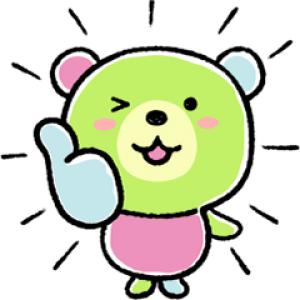 【LINE無料スタンプ速報】サランラップ®のたぶん、クマ。第3弾! スタンプ(2018年09月10日まで)