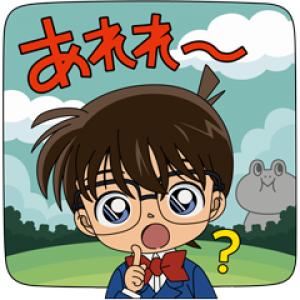 【LINE無料スタンプ速報】バブル2×名探偵コナンコラボ限定スタンプ(2018年10月03日まで)