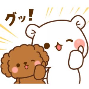 【LINE無料スタンプ速報】毒舌あざらし&ゲスくま×ワンケルくん スタンプ(2018年10月22日まで)