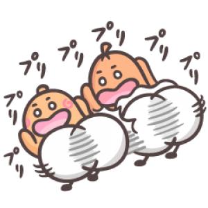 【LINE無料スタンプ速報】ソップリンのぷりっ♪ぷりっ♪スタンプ(2018年11月26日まで)