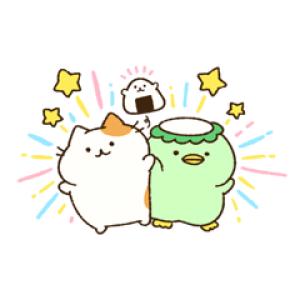 【LINE無料スタンプ速報:隠し】ちいさんぽのかっぱ食堂 スタンプ(2018年12月11日まで)