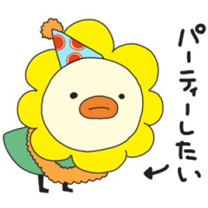【LINE無料スタンプ速報】オリコトリ☆スタンプ第3弾♪ スタンプ(2018年12月24日まで)