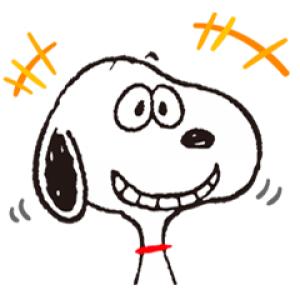 【半額セール】SNOOPY★FUNNY FACES スタンプ(2017年11月28日AM10:59まで)