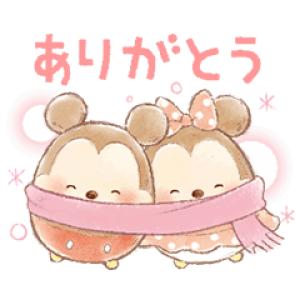 【LINE無料スタンプ速報:隠し】【1月先行】ウフフィ(冬の日) スタンプ