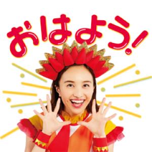 【LINE無料スタンプ速報】LINE ポコポコ × ももくろちゃんZ スタンプ(2019年02月19日まで)