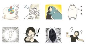 【LINE無料スタンプ速報:隠し】Eveダウンロード保存特典 スタンプ(2019年03月07日まで)
