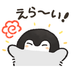 【LINE無料スタンプ速報】コウペンちゃん×LINEモバイル スタンプ(2019年03月20日まで)