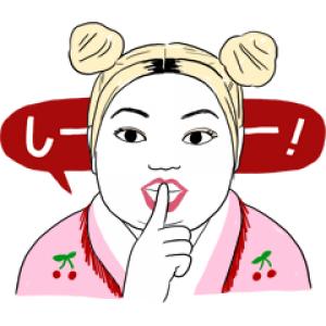 【LINE無料スタンプ速報】架純&直美★すっぴん素肌トーク スタンプ(2019年07月01日まで)