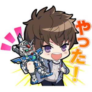 【LINE無料スタンプ速報:隠し】ガンダムブレイカーモバイル スタンプ(2019年10月31日まで)