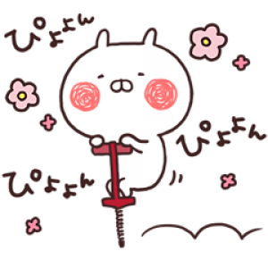 【LINE無料スタンプ速報】うさまる×コカ・コーラ スタンプ(2019年07月08日まで)