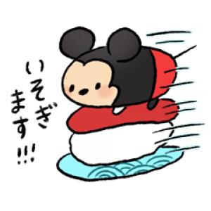 【LINE無料スタンプ速報:隠し】【6月先行】ディズニー ツムツムbyやばい スタンプ