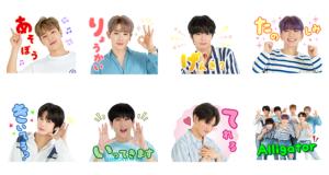 【LINE無料スタンプ速報:隠し】MONSTA X ダウンロード保存特典 スタンプ(2019年07月11日まで)
