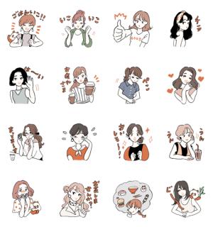 【LINE無料スタンプ速報】LINE CONOMI × チヤキ スタンプ(2019年09月11日まで)