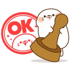 【LINE無料スタンプ速報】LINEキャリア×毒舌あざらし スタンプ(2019年12月18日まで)