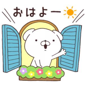 【LINE無料スタンプ速報:隠し】いぬまっしぐら × ロクシタン スタンプ(2019年11月18日まで)