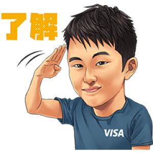 【LINE無料スタンプ速報】Team Visa アスリートスタンプ(2020年04月29日まで)