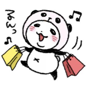 【LINE無料スタンプ速報】パンダinぱんだ × LINEチラシ スタンプ(2020年03月11日まで)