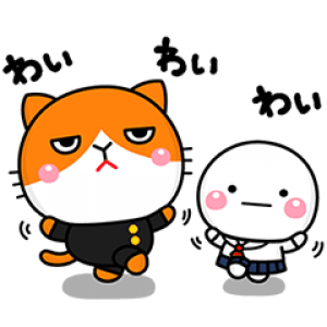 【LINE無料スタンプ速報】ふてニャン×しろまる スタンプ(2020年02月24日まで)