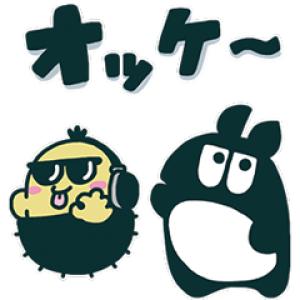 【LINE無料スタンプ速報】DJマロンとMCズイミー スタンプ(2020年03月16日まで)