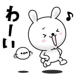【LINE無料スタンプ速報】ひねくれうさぎ×ライブドアニュース スタンプ(2020年07月22日まで)
