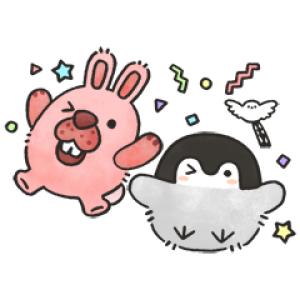 【LINE無料スタンプ速報:隠し】ポコパンタウン×コウペンちゃん スタンプ(2020年07月21日まで)