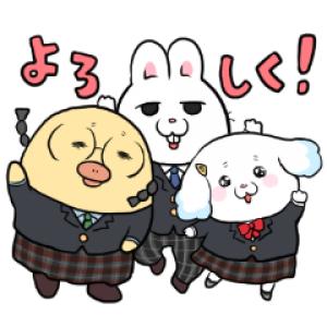 【LINE無料スタンプ速報】モフ缶 新学期に使える編 スタンプ(2020年07月20日まで)
