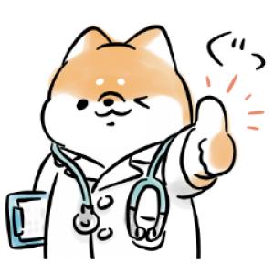【LINE無料スタンプ速報】ほんわかしばいぬ × LINEヘルスケア スタンプ(2020年08月26日まで)
