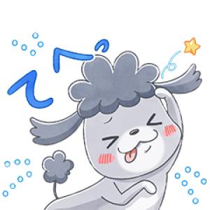 【LINE無料スタンプ速報】LINEモバイル ×「犬と猫」アニメ版 スタンプ(2020年09月09日まで)