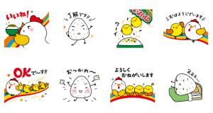 【LINE無料スタンプ速報:隠し】のりたま・混ぜ込みわかめキャラクター スタンプ(2020年12月20日まで)