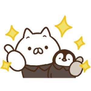 【LINE無料スタンプ速報】ねこぺん日和×ライザップ スタンプ(2020年11月09日まで)