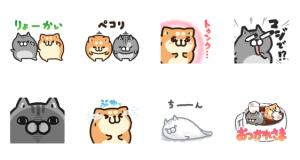 【LINE無料スタンプ速報】タイムラインで使える★ボンレス犬と猫 スタンプ(2020年12月02日まで)