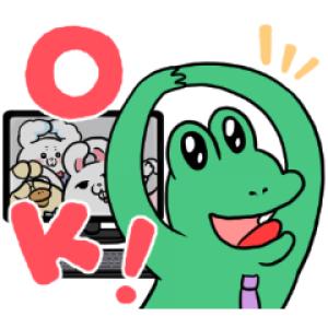 【LINE無料スタンプ速報】LINEミーティング×モフ缶の仲間たち スタンプ(2020年12月16日まで)