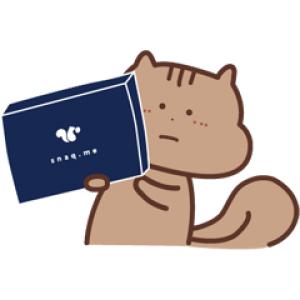 【LINE無料スタンプ速報:隠し】スナックミーのりっす スタンプ(2021年01月03日まで)