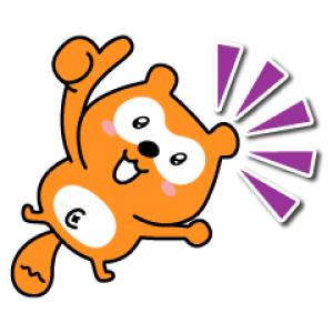 【LINE無料スタンプ速報:隠し】日常で使える!ポンタ スタンプ(2021年01月24日まで)
