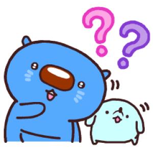 【LINE無料スタンプ速報:隠し】あおまるスタンプ6 スタンプ(2021年01月31日まで)