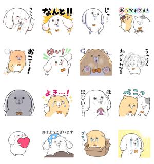 【LINE無料スタンプ速報】LINE CONOMI × モフ缶 スタンプ(2020年12月30日まで)