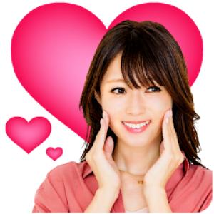 【LINE無料スタンプ速報:隠し】メナード 深田恭子さん スタンプ(2021年04月14日まで)