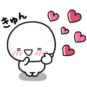 【LINE無料スタンプ速報】しろまる × LINEバイト スタンプ(2021年02月24日まで)