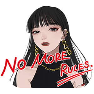 【LINE無料スタンプ速報:隠し】KATE NO MORE RULES. スタンプ(2021年05月11日まで)