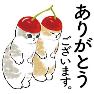 【LINE無料スタンプ速報】にゃんこスイーツ! × LINEバイト スタンプ(2021年05月05日まで)