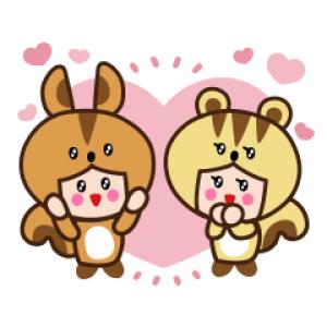 【LINE無料スタンプ速報:隠し】リック&スー スタンプ(2021年06月21日まで)