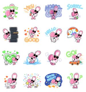 【LINE無料スタンプ速報:隠し】CHICHI: created by JISOO スタンプ(2021年05月19日まで)
