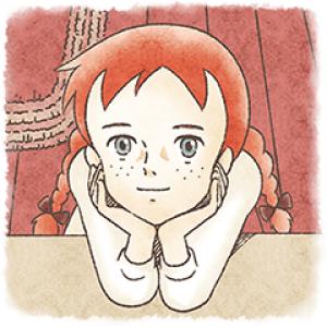 【日替半額セール】赤毛のアン スタンプ(2016年06月11日分)